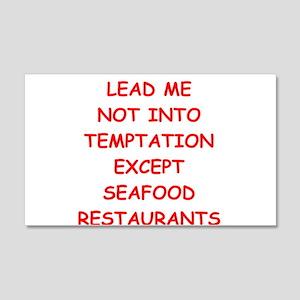 seafood 20x12 Wall Decal