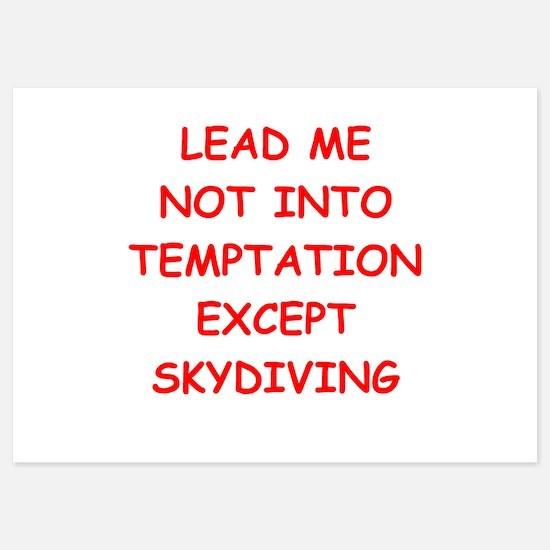 skydiving Invitations