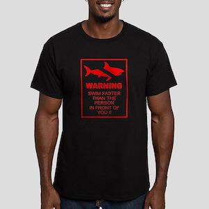 shark warning back copy T-Shirt