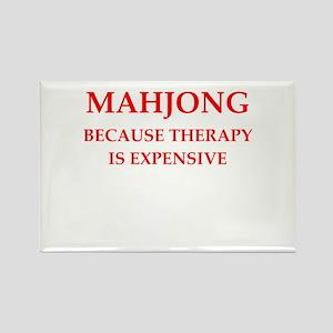 mahjong Rectangle Magnet