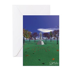 Large In Time Greeting Cards (Pk of 10)
