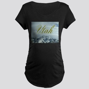 MountainPhotosWideUtah Maternity T-Shirt