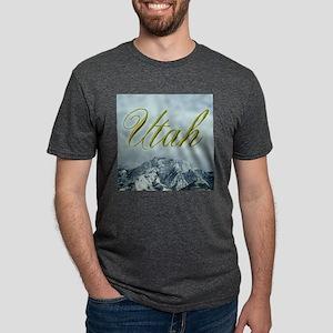 Utah Mountains - Apparel Ash Grey T-Shirt