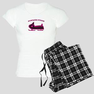 Snowmobile Princess Women's Light Pajamas