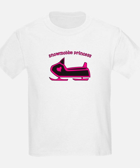 Snowmobile Princess T-Shirt