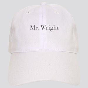 Mr Wright-bod gray Baseball Cap
