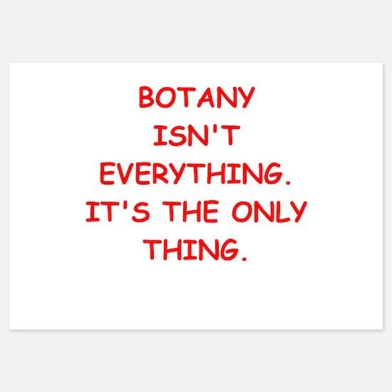 botany Invitations