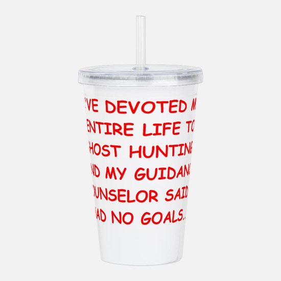 ghort hunting Acrylic Double-wall Tumbler