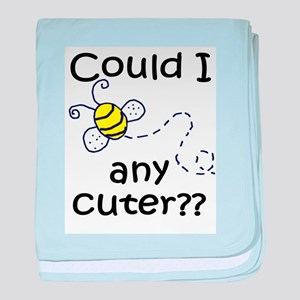 Bee Any Cuter baby blanket