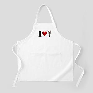 I Heart Lobster BBQ Apron