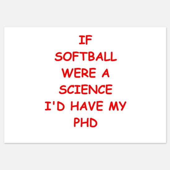 softball Invitations