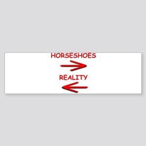 horseshoes Sticker (Bumper)