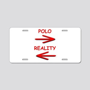 polo Aluminum License Plate