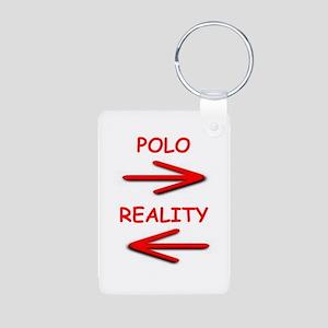 polo Aluminum Photo Keychain