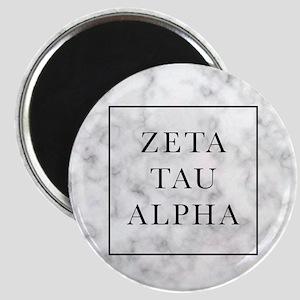 Zeta Tau Alpha Marble FB Magnet
