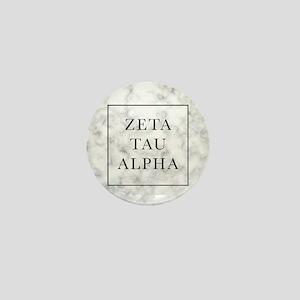 Zeta Tau Alpha Marble FB Mini Button
