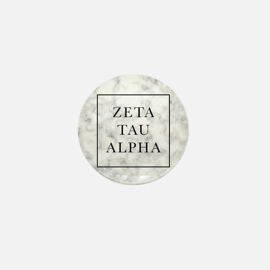 Zeta Tau Alpha Marble FB Mini Button