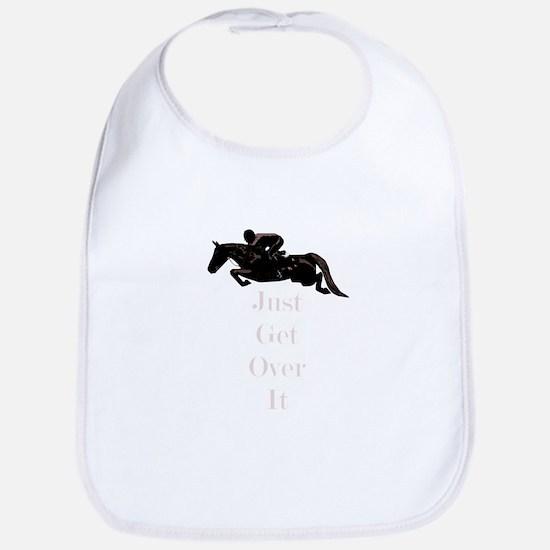 Just Get Over It Horse Jumper Bib