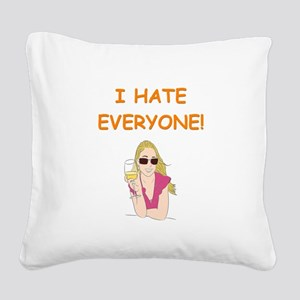 10 Square Canvas Pillow