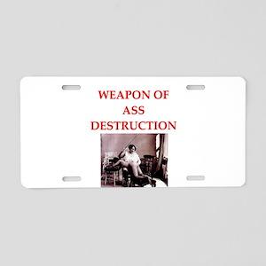 bdsm Aluminum License Plate