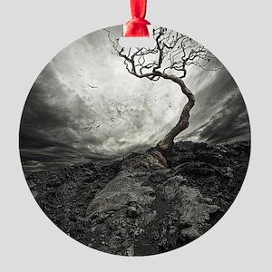 Dark Tree Ornament