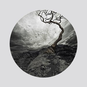 Dark Tree Ornament (Round)