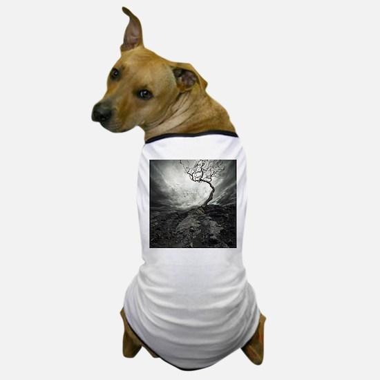 Dark Tree Dog T-Shirt
