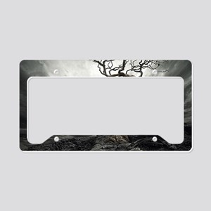 Dark Tree License Plate Holder