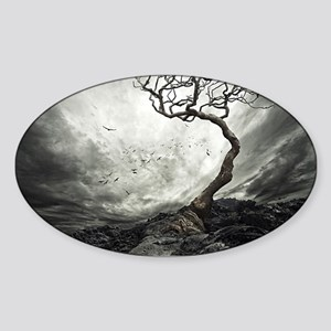 Dark Tree Sticker