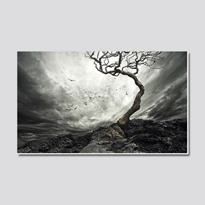 Dark Tree Car Magnet 20 x 12