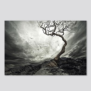 Dark Tree Postcards (Package of 8)