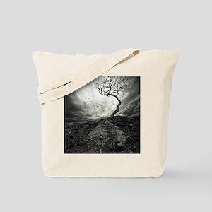 Dark Tree Tote Bag