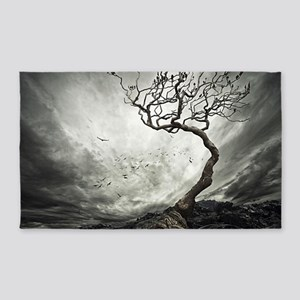 Dark Tree 3'x5' Area Rug