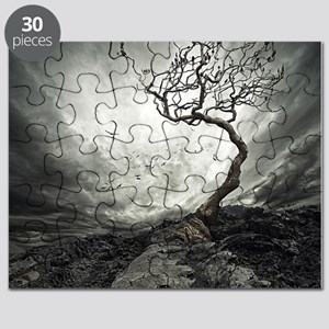 Dark Tree Puzzle