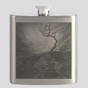 Dark Tree Flask