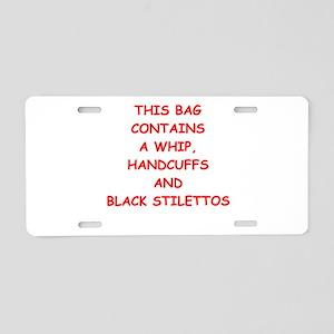 STILETTOS Aluminum License Plate