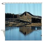 Barn Reflection Shower Curtain