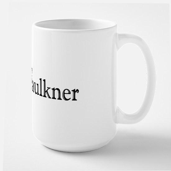 I Love Faulkner Large Mug