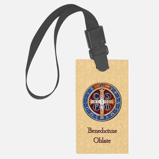 Benedictine Oblate Luggage Tag