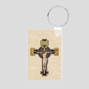 Benedictine Crucifix Keychains