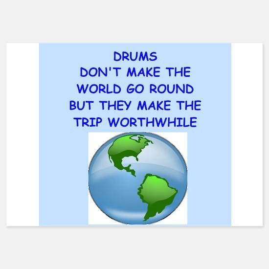 drum Invitations