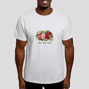 Vintage Rose Car Light T-Shirt