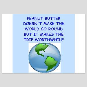 peanut butter 5x7 Flat Cards