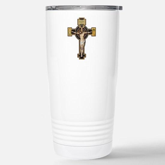 Cute Saint benedict Travel Mug
