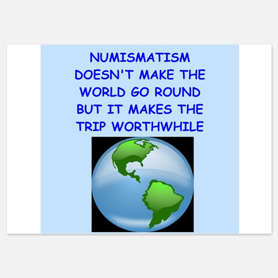 numismatist Invitations