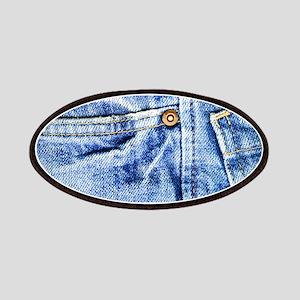 Denim Blue Jeans Patches