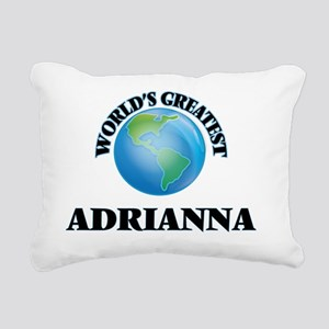 World's Greatest Adriann Rectangular Canvas Pillow
