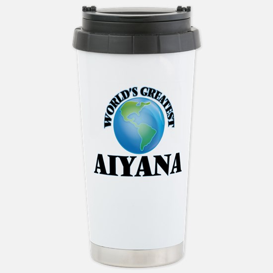 World's Greatest Aiyana Stainless Steel Travel Mug