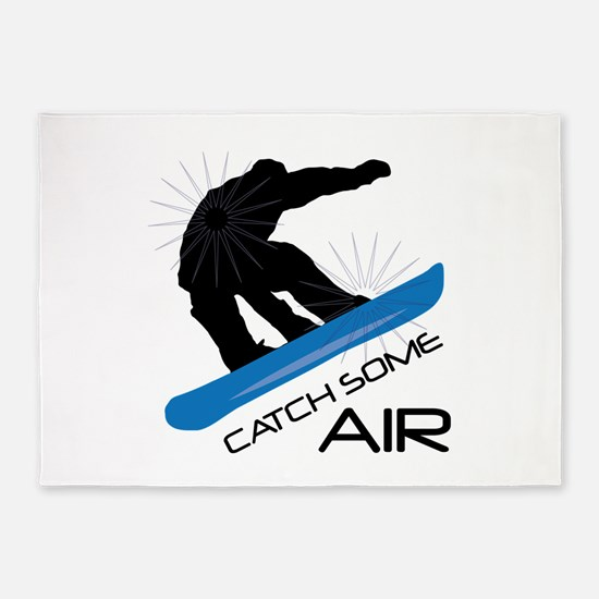 Catch Some Air 5'x7'Area Rug