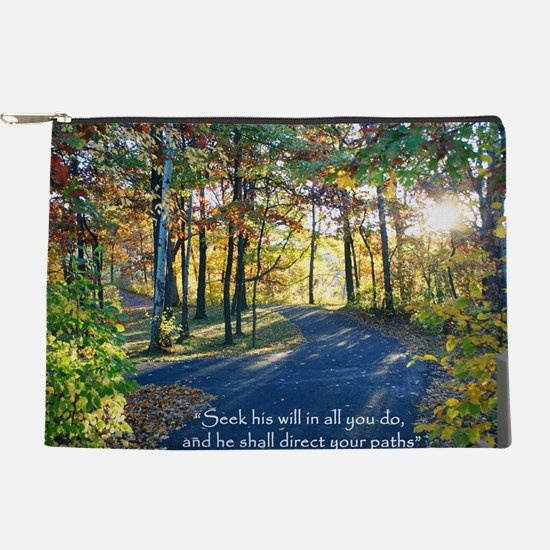 Direct your paths... Makeup Pouch